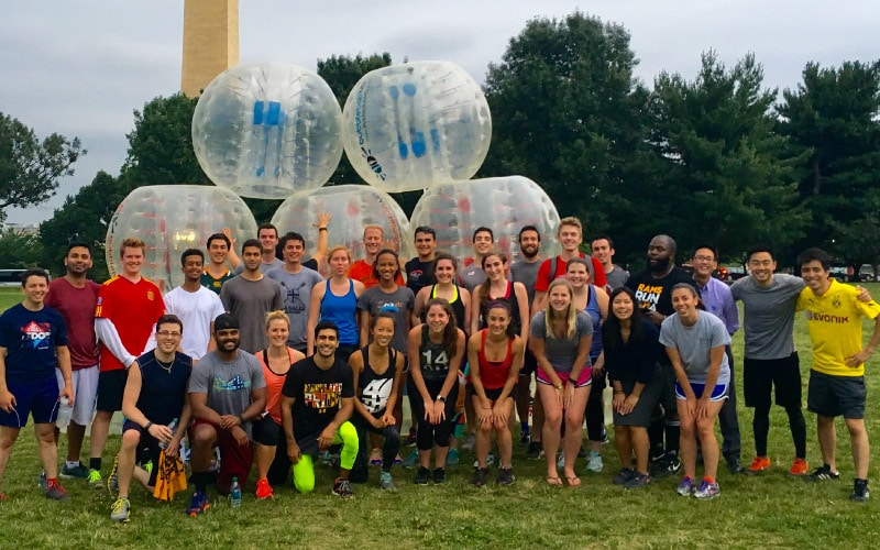 BubbleBall Corporate Team Building Washington DC