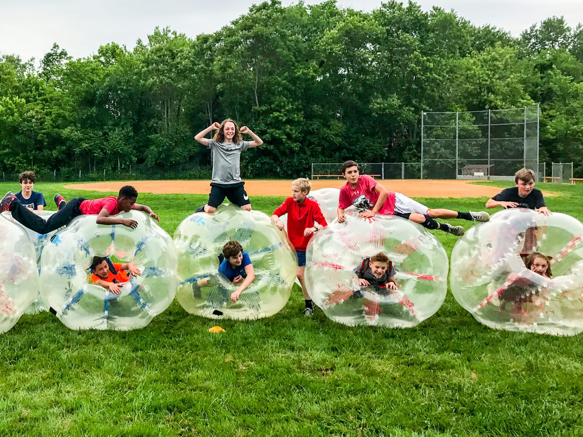 BubbleBall Teenage Boys Birthday Party Ideas with Wonderfly Games