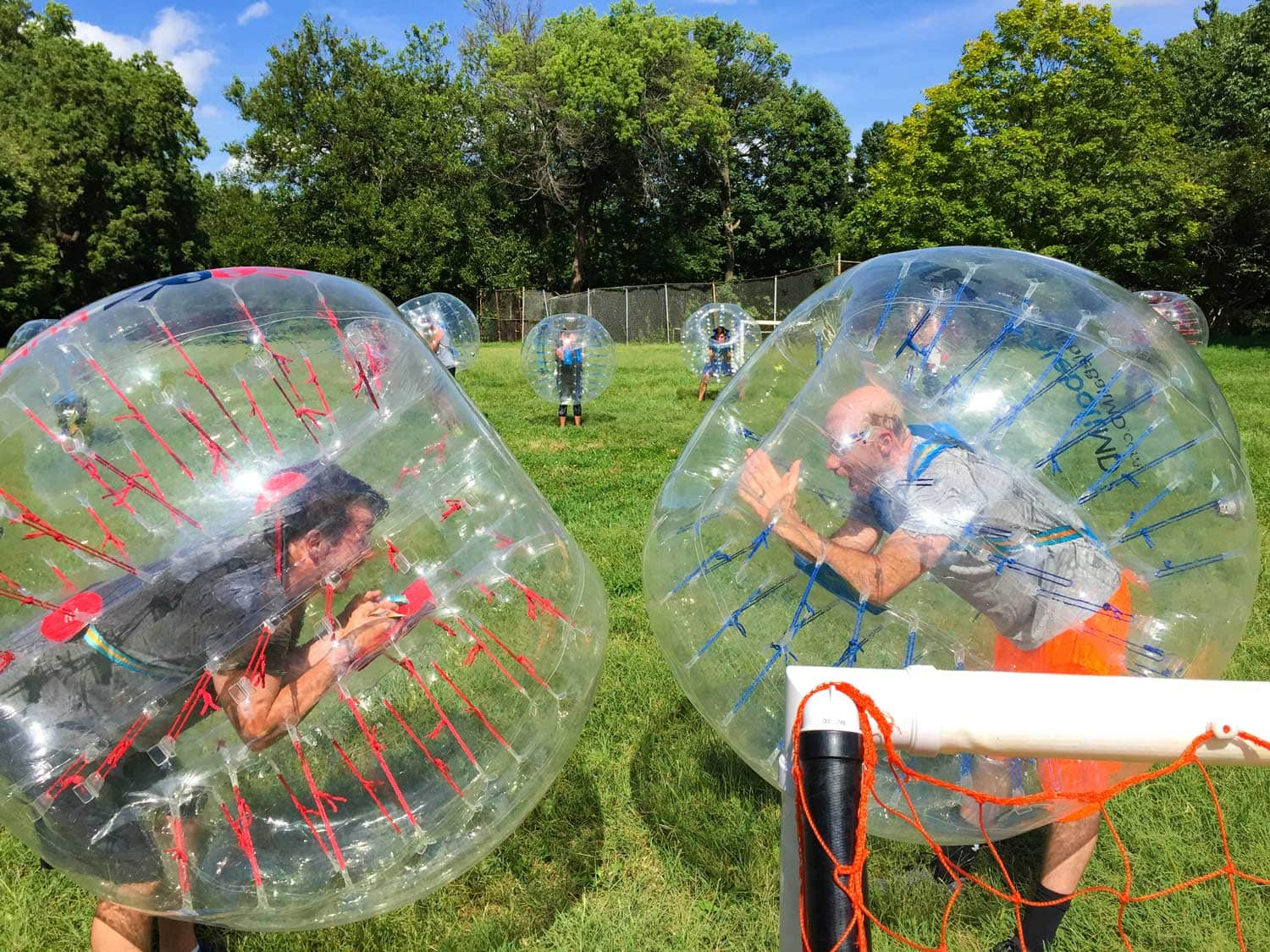 Bubble Soccer Corporate Team Building Ideas from Wonderfly Games